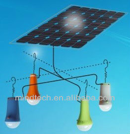 Hanging solar led light mini solar lamp kits portable solar energy system cheap outdoor solar light