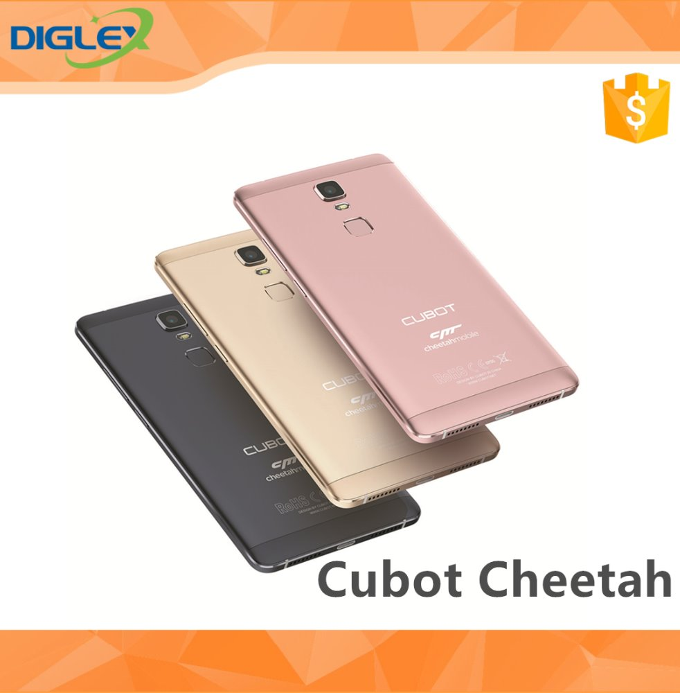 "New Original 5.5"" Cubot Cheetah MTK6753 Octa Core 3GB RAM 32GB ROM Android 6.0 13.0MP Camera FDD LTE 4G Cell Phone"