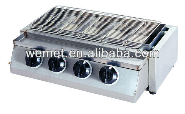Cheap gas grill for sale/ Industrial gas grill