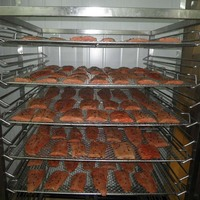 industrial easy operation pork fish meat roaster sale in Ireland