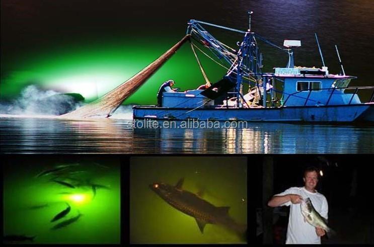 12v 24v waterproof led night fishing light boat lighting attract, Reel Combo