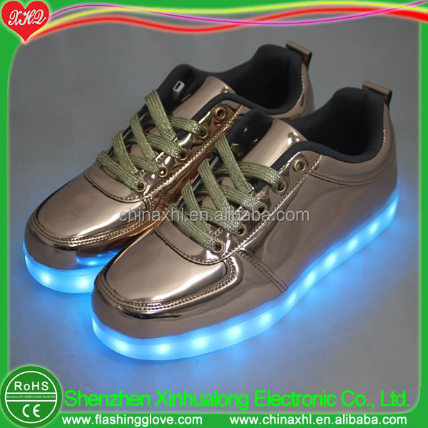light shoes style Casual China golden cool up LED anwqx5OH0
