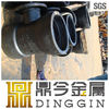 DI pipe fitting DN200 double socket flange tee