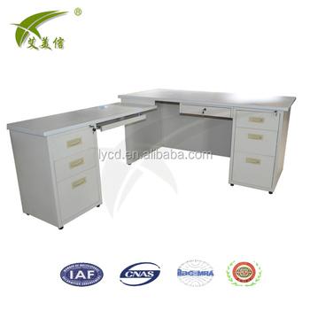 Metal Office Table Modern Desk