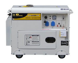Power Value 5kw slient diesel generator and alternator with low price