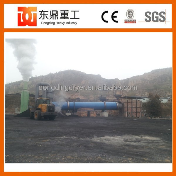 Continuous working Coal Slime Dryer Machine/Ore Slug Three Drum Rotary Dryer Manufacture from China