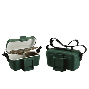 Factory wholesale Virgin PP/ABS durable and portable durable plastic fishing bait box