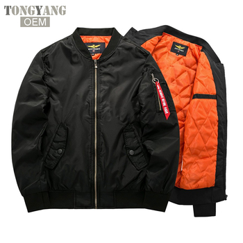 TONGYANG Bomber Jacket 2018 Men's Fashion Thick Warm Autumn Winter Military Motorcycle Jackets