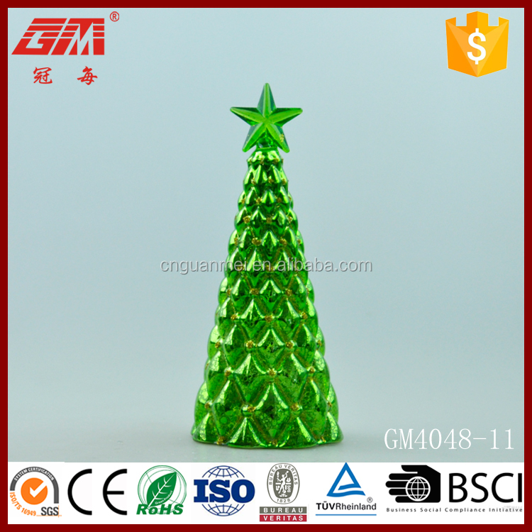 wholesale green color christmas tree decoration