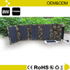 Solar panel solar backpack charger , solar mobile phone bag and case OEM& ODM & Logo printing welcome