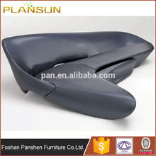 Ergonomic Living Room Furniture Shoes Shape Zaha Hadid Moon System sofa with ottoman