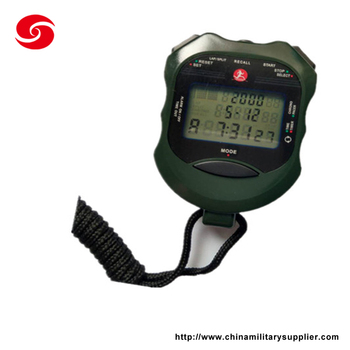 professional military police army training stopwatch timer chronograph with good quality