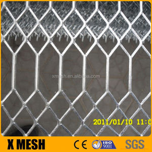 Copper expanded metal mesh with 9 gauge thickness