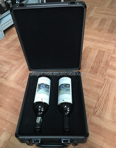 Customized Aluminum Protective Carry Case Wine Box
