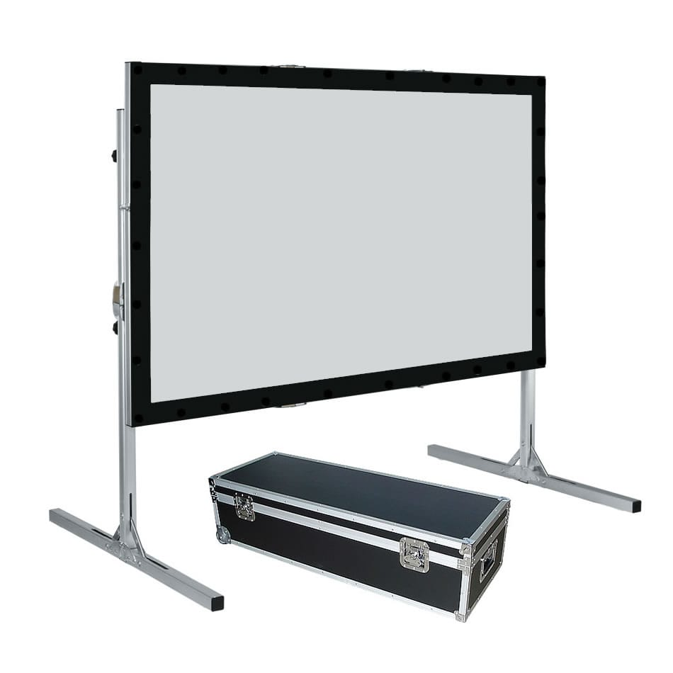 "hot sale fast fold metal frame projection screen 150"" projection screen frame"