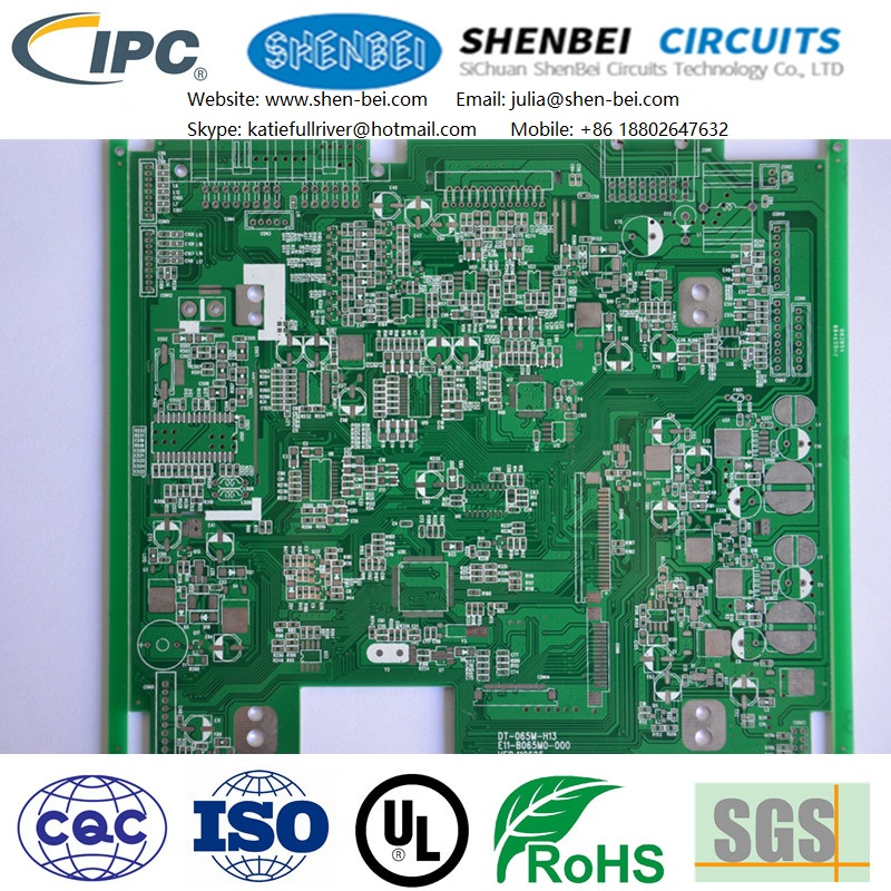 Audio, car entertainment systems, GPS pcb printed circuit board