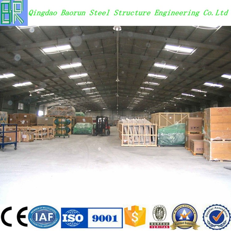 Prefab light steel frame warehouse