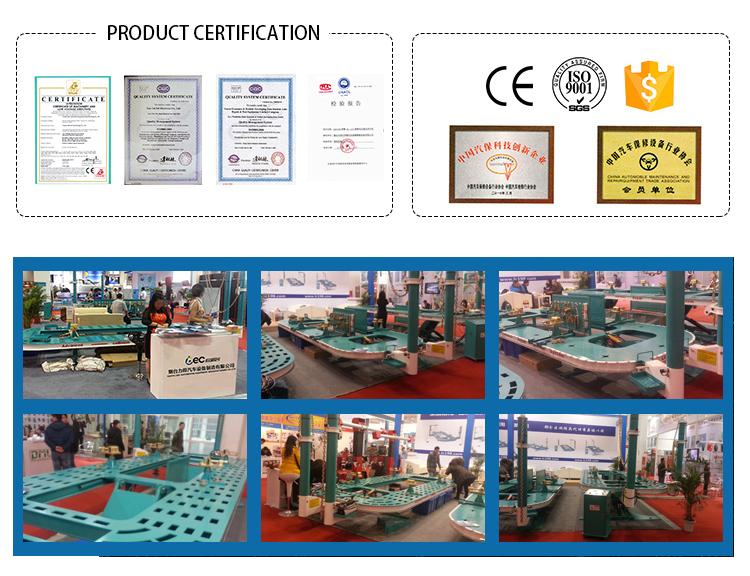 Telaio auto/attrezzature per auto telaio raddrizzatore attrezzature