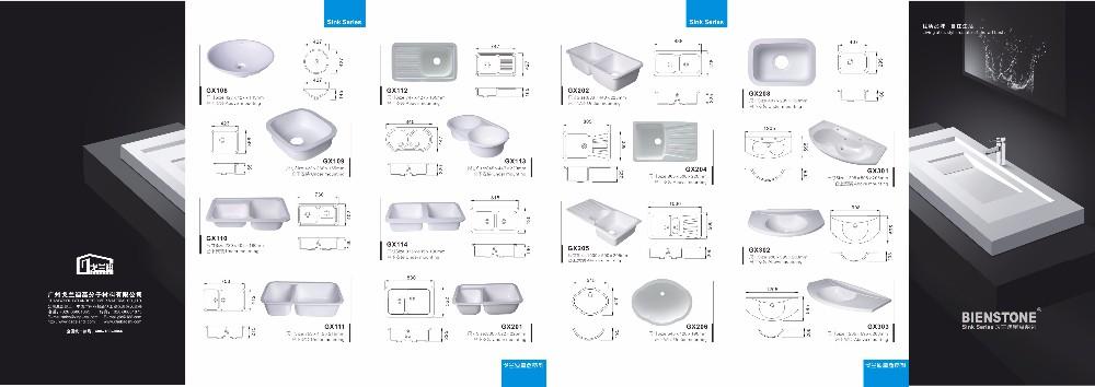 White Composite Granite Kitchen Vessel Sink Basin Buy