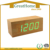 Digital LED Battery Table Clock, Wooden Table Clock