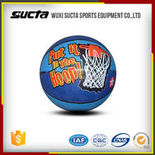 China factory directly supply custom rubber basketballs