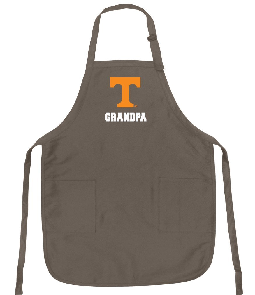 Broad Bay Deluxe University of Tennessee Grandpa Apron Official Tennessee Grandpa Logo Aprons