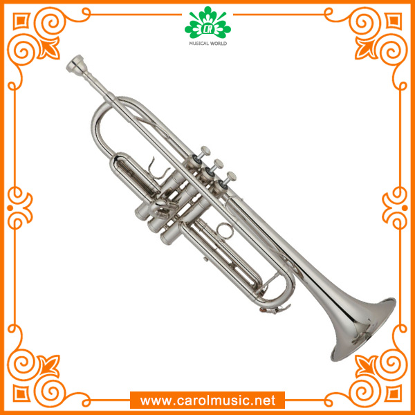 TR006 Silver Plated Professional bb Trumpet