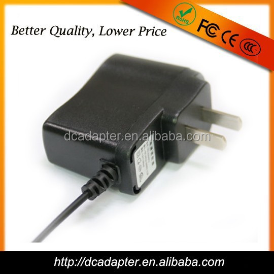 high quality 6 Watt wallmount adapter 12v 500mA