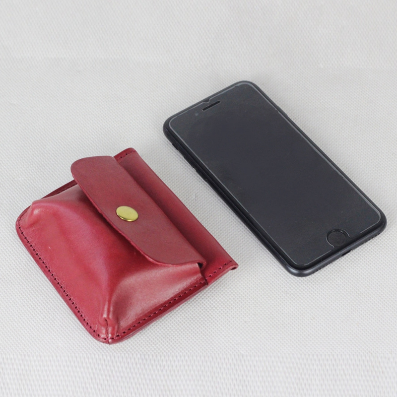 Factory Price Genuine Leather Coin Purse Card Holders Headphone Holder