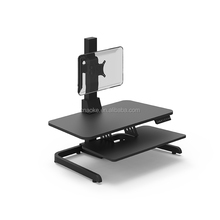 Ergonomic single screen adjustable computer workstations sit stand desk