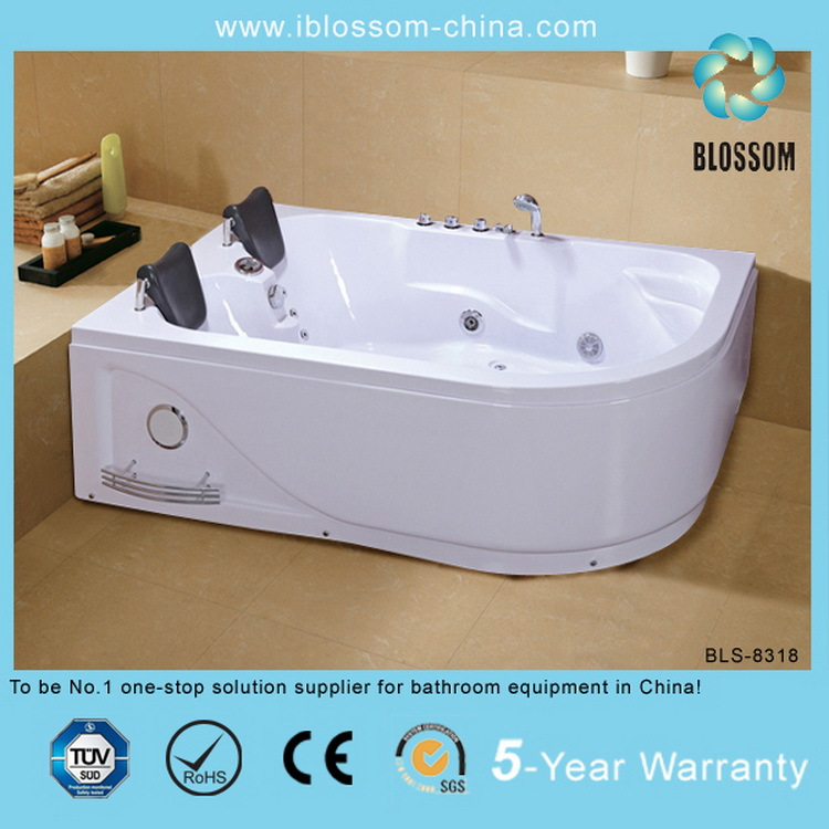 Corner Abs Double Whirlpool Bath Tub For Import - Buy Abs Bath ...