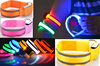 New Safety Sports Reflective Armband Strap Arm Band,LED Running Belt