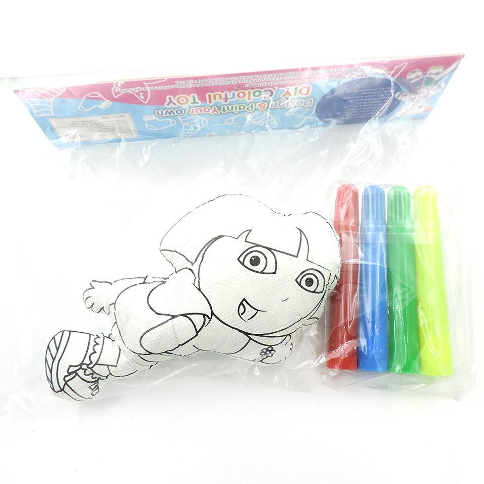 15 Cm Diy Kustomisasi Boneka Mainan Kartun Pesawat Hewan Plush Mainan Diy Mewarnai Dengan Pulpen Mainan Untuk Anak Ulang Tahun Hadiah Buy 15cm Diy