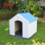 Factory direct sale polypropylene plastic outdoor dog kennels house