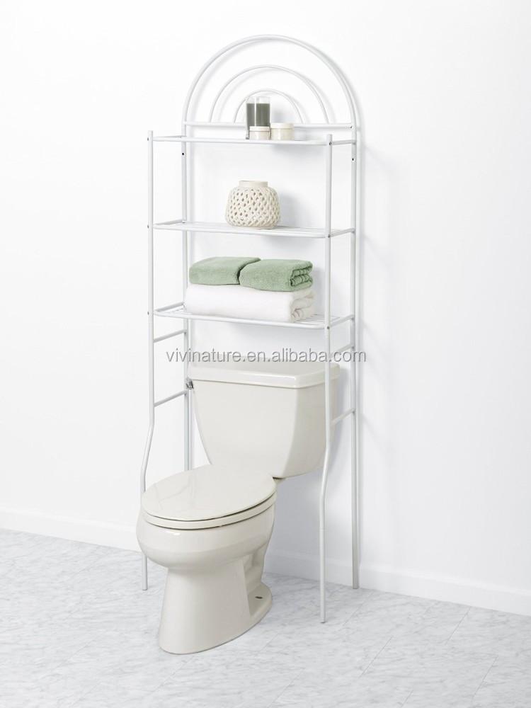 Vivinature Over The Toilet Shelf Bathroom Shelf Organizer