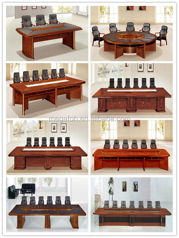 68 seats mahogany furniture modern office room table foh