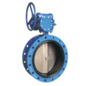 Double Flanged Concentric Butterfly Valves for water supply