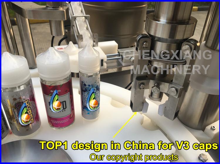 Bán Hot 120 ml mũm mĩm gorilla máy rót chai, eliquid chai máy đóng gói