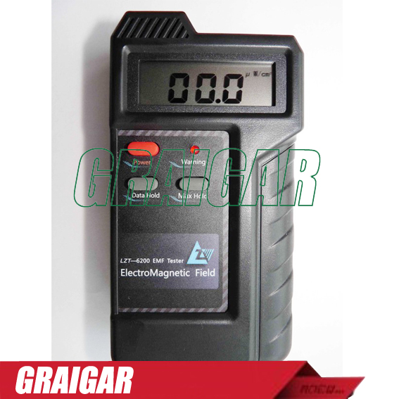 High frequency electromagnetic radiation detector LZT-6200 mobile phone radiation base stations radiation tester