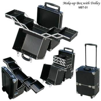 trolley makeup box makeup case make up box make up case make up box make up case cosmetic case. Black Bedroom Furniture Sets. Home Design Ideas