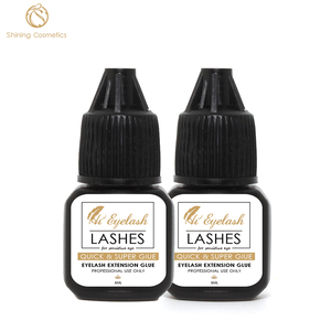 5ml Hieyelash Fast Drying 1 Second Professional Eyelashes Extension Glue for Sensitive eyes Made in Korea Last 6-7 Weeks
