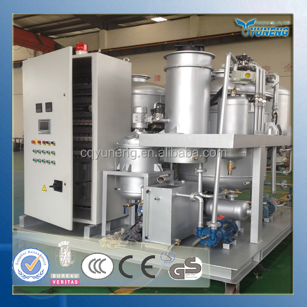 YNZSY series high recovery waste engine oil recycle machine/used black oil regeneration device