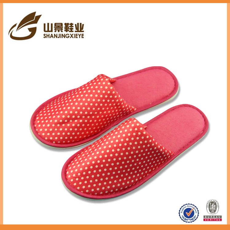 light gift new cheap hotel soft sole terry cloth slippers