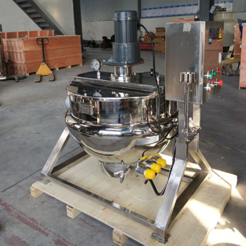 300L electric heating cooking mixer machine for food