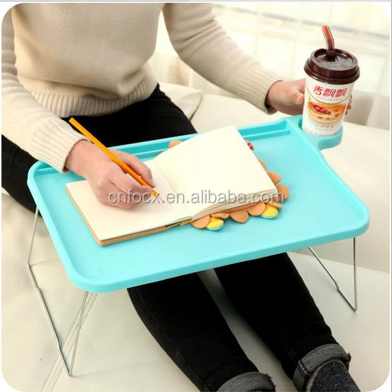 Nueva plegable mesa de ordenador port til de escritorio soporte de escritorio bandeja de cama - Soporte portatil sofa ...