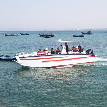 Europe Design 6 1m Aluminum Landing Craft Vessel With Certificate