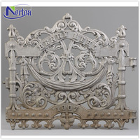 High quality white cheap wrought iron fence NTIF-073Y