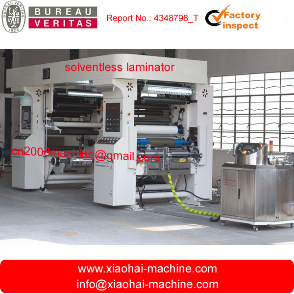 SLF-B Solventless Laminator For Plastic and Paper