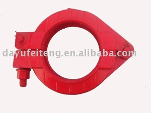 schwing concrete pump pipe clamp