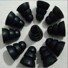6 Pairs 3 Sizes (S M L ) Three Layer Silicone In-Ear Earphone Earbuds Headset Eartips Earplug Ear pads Headphone B061